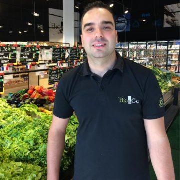 Zizou, la star fruits et légumes de Bio&Co Aix les Milles !
